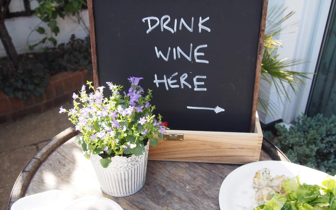Morgan Jupe Wine Bar at Foodies Festival