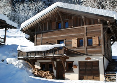 01 Morgan Jupe Luxury Catered Ski Chalets Morzine - Chalet de mes Rêves - Exterior - Front view 1.2