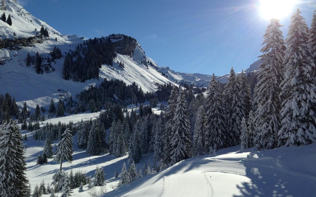 Skiing the Portes du Soleil