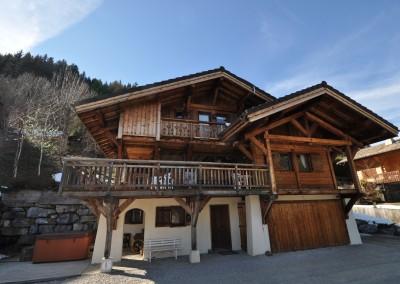 01 Morgan Jupe Luxury Catered Ski Chalets Morzine - Chalet des Amis - Exterior 1