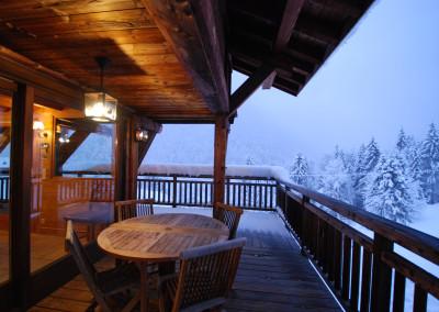 13Morgan Jupe Luxury Catered Ski Chalets Morzine - Chalet des Amis - Exterior - Baloncy 1.1