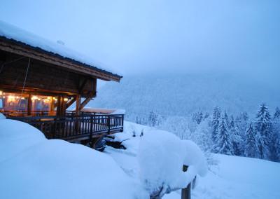 14 Morgan Jupe Luxury Catered Ski Chalets Morzine - Chalet des Amis - Exterior - Baloncy 1.5
