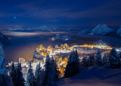 Avoriaz - Night