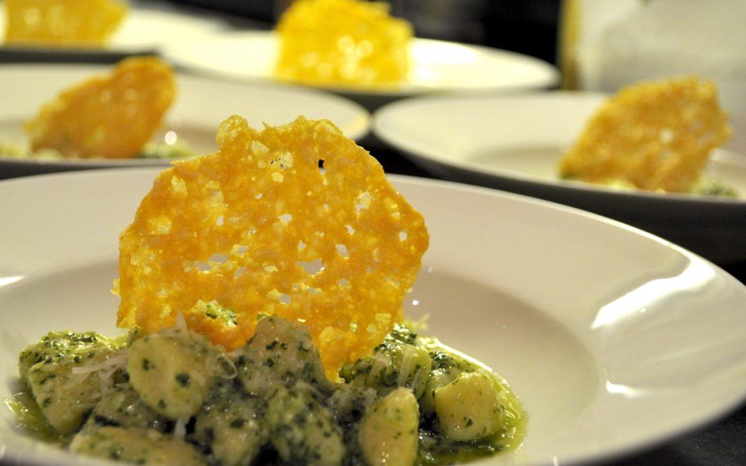 Recipe of the week: Ricotta Gnocchi and Rocket Pesto