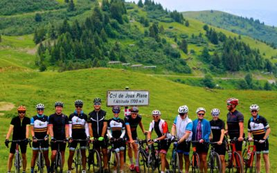 Conquering cols in and around Morzine