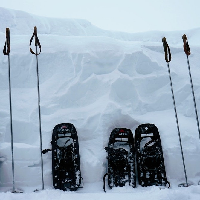 Image of snowshoes in Morzine
