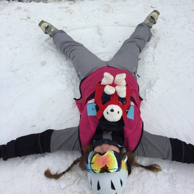 10 Not forgetting the snow angels