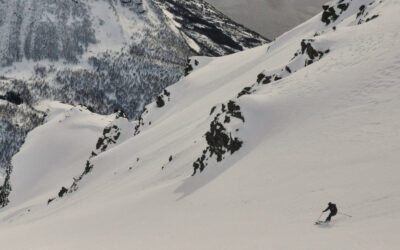 Ski touring with peak snowsports